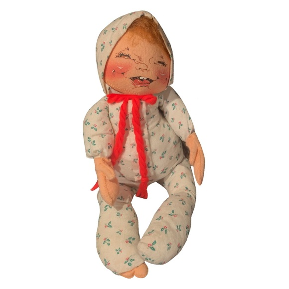 Vintage Annalee 17 inch Christmas Baby Mobilitee